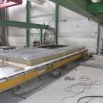 ECO-SANDWICH neposredno prije ugradnje vanjskog sloja betona