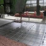 Ugradnja vanjskog sloja betona